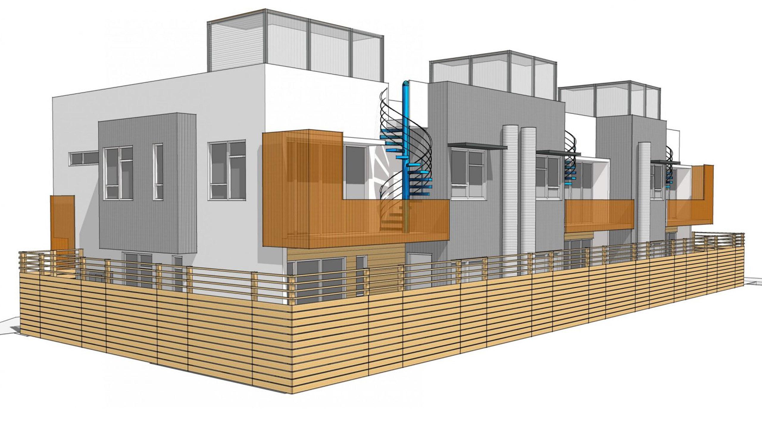 Cherry Suites Multifamily Petaluma roof top terrace 4