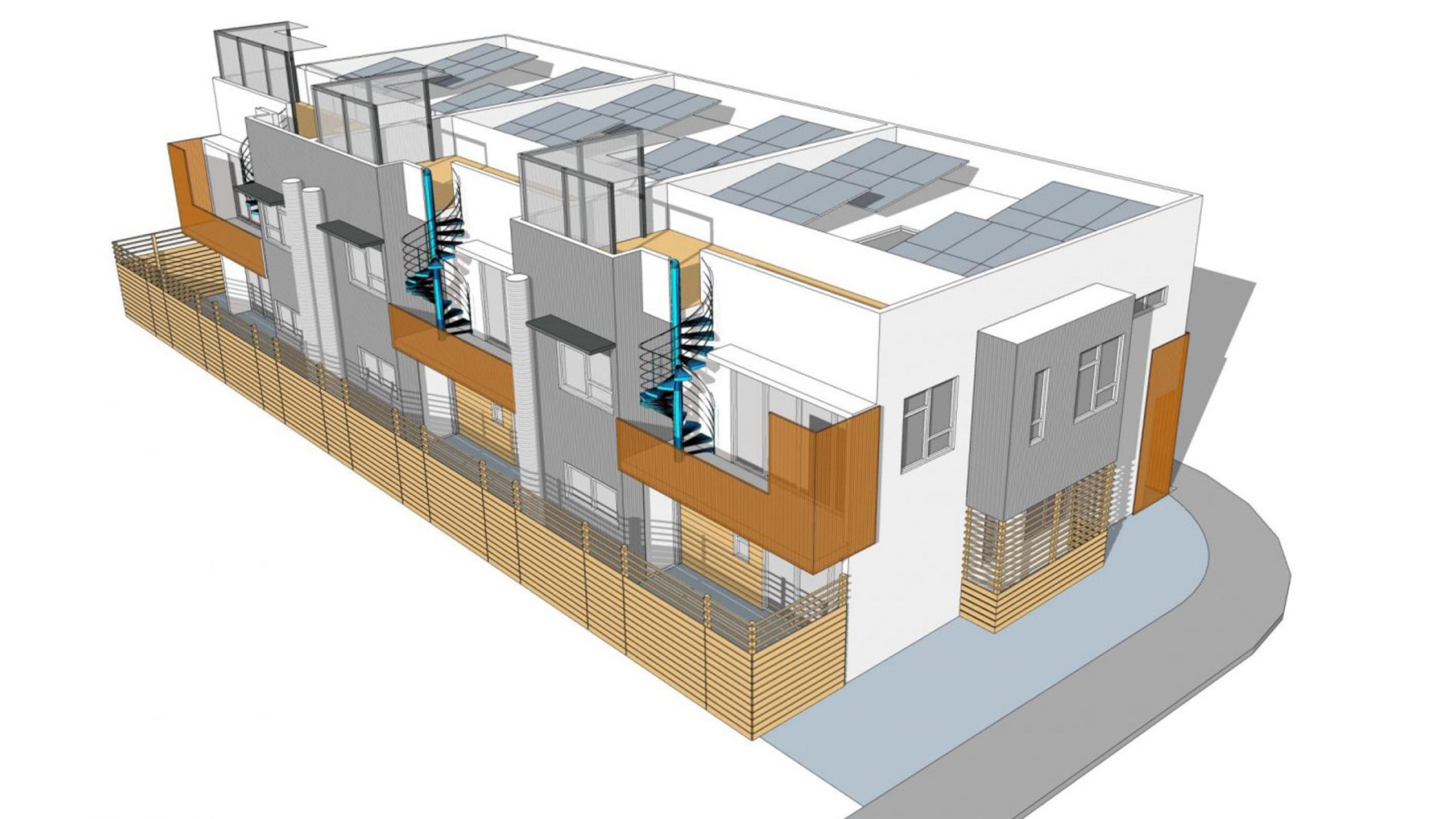 Cherry Suites Multifamily Petaluma sustainable architecture 2