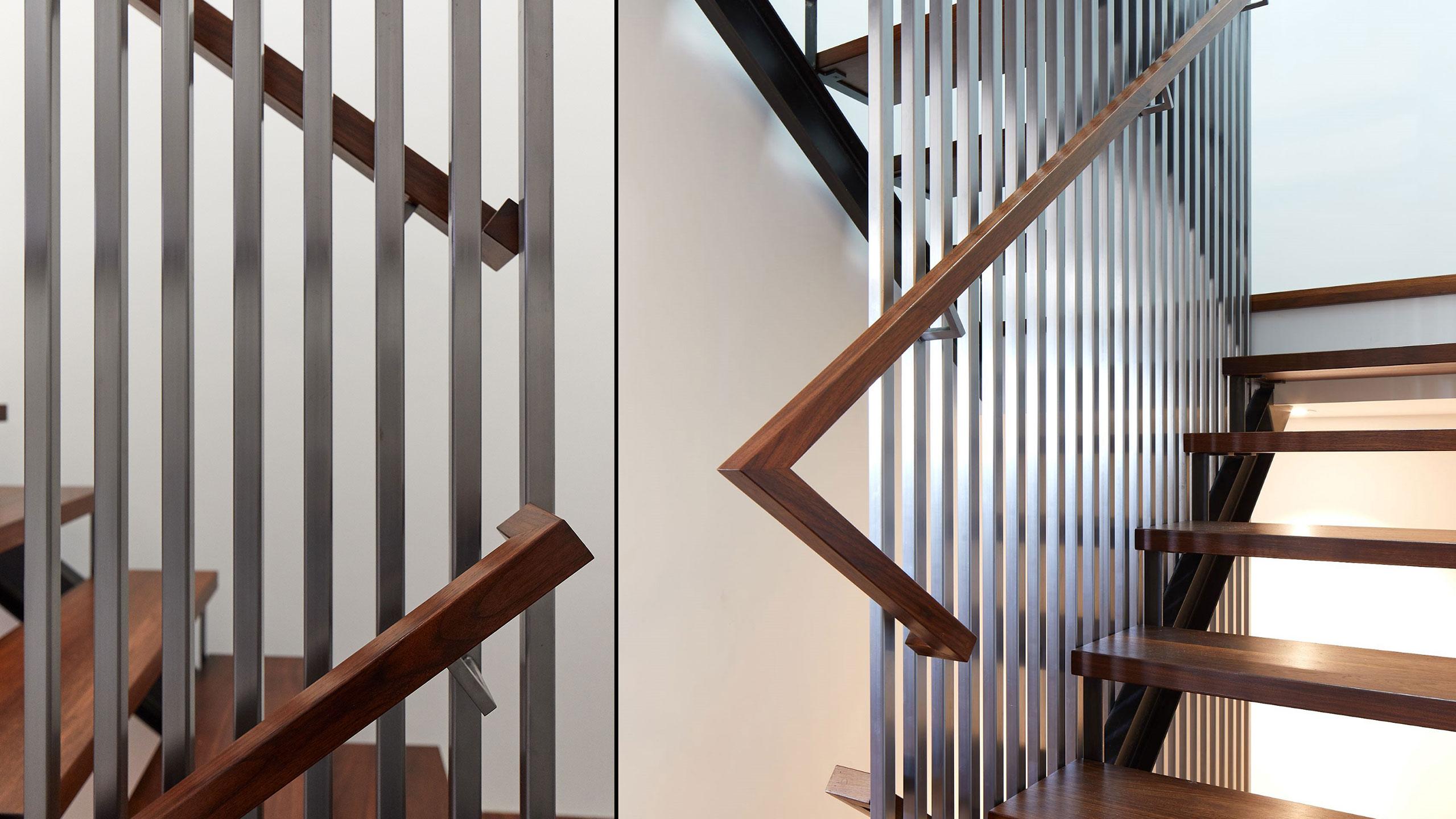 Farmhouse Interior Design Sonoma County 10 custom staircase design