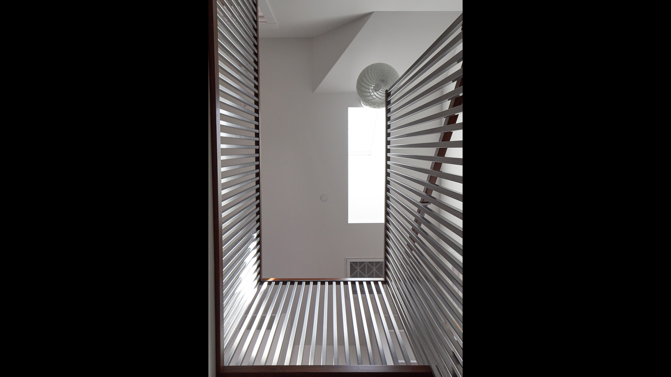 Farmhouse-Interior-Design-Sonoma-County-9-steel-staircase-design