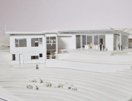 Modern House Design Marin County Haybales
