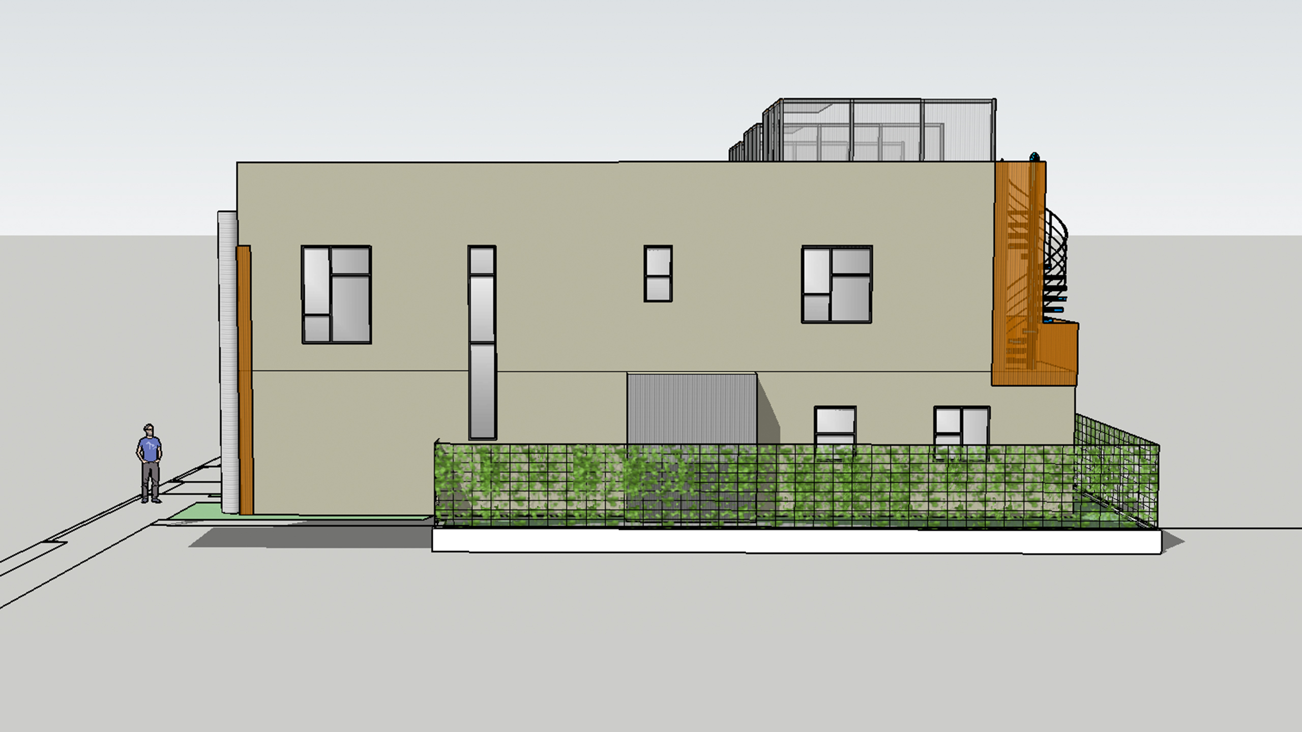 Modern-Multifamily-Sonoma-County-side-view