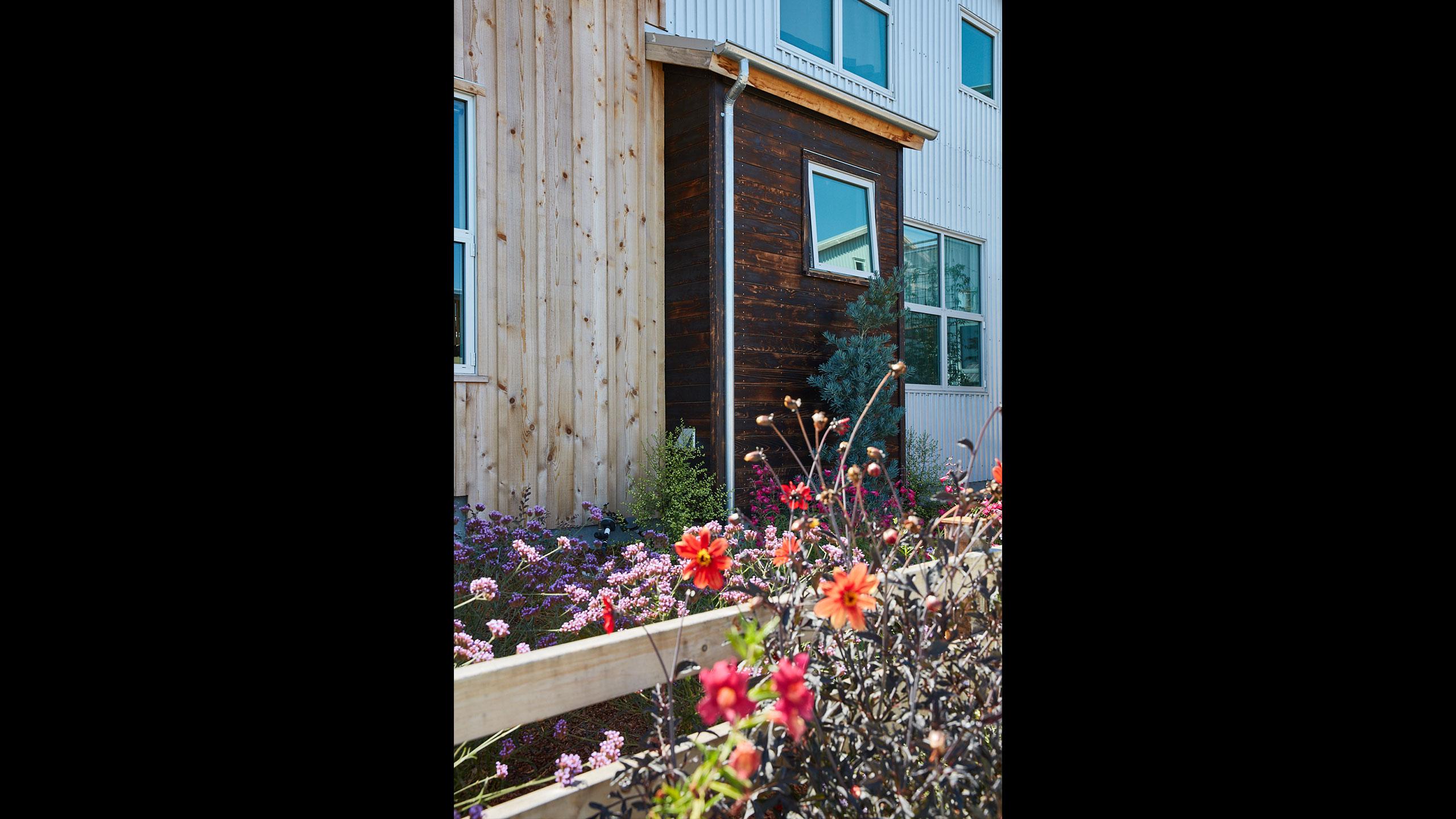 Sustainable-Architecture-Sonoma-County-Keller-Court-blackened-wood-siding-shou-sugi-ban