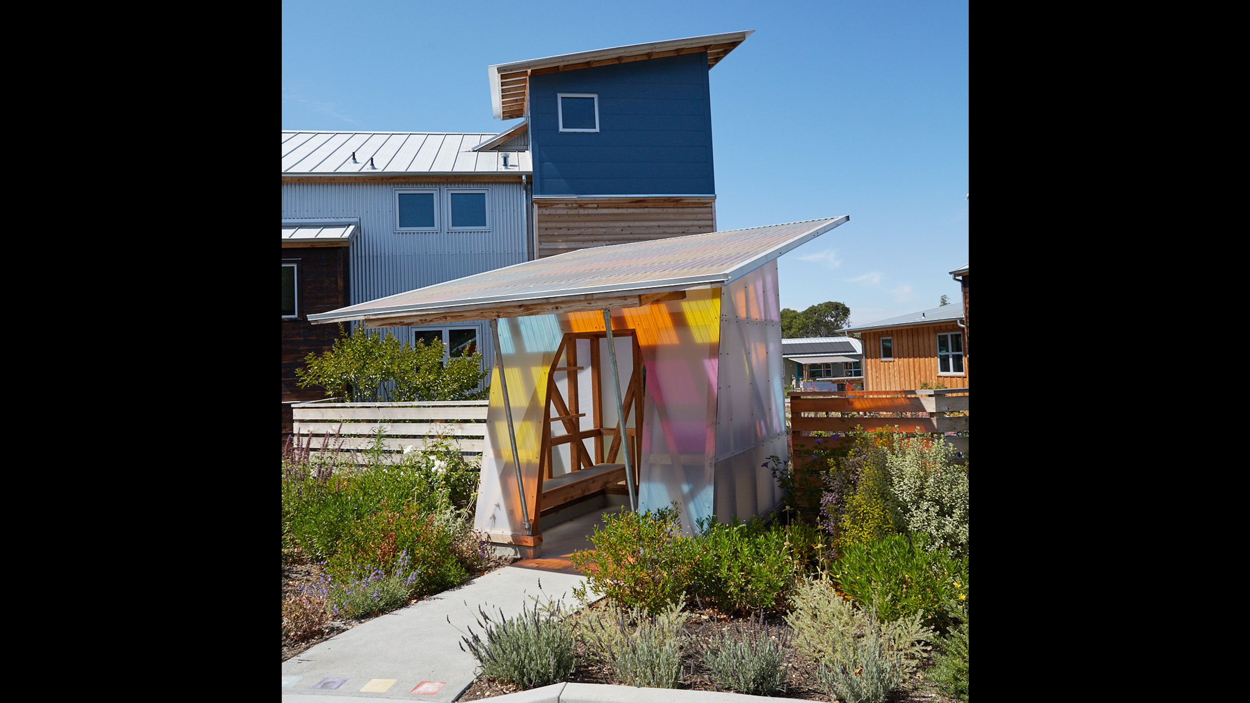 Sustainable-Architecture-Sonoma-County-Keller-Court-mailboxes