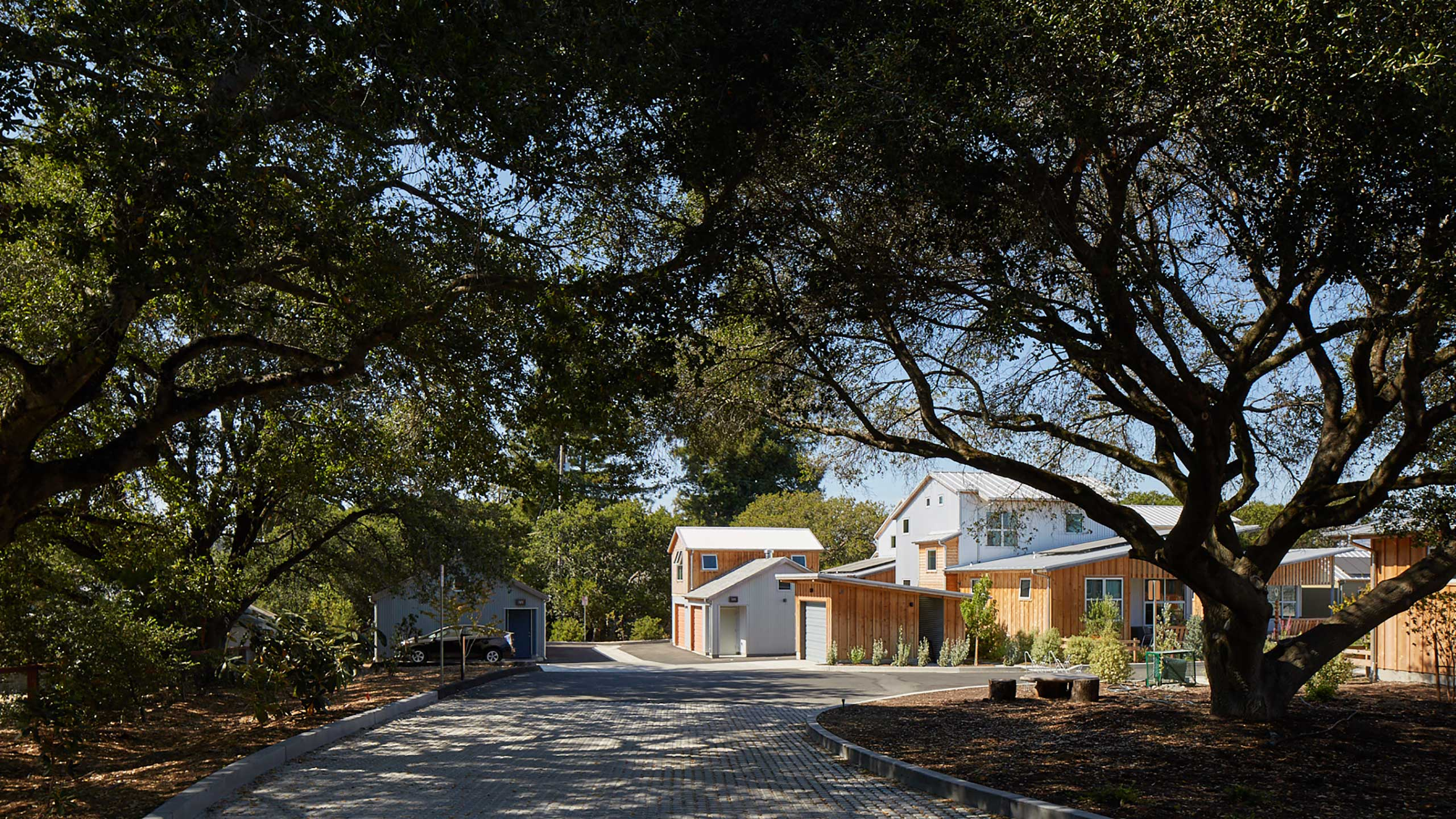 Sustainable-Architecture-Sonoma-County-Keller-Court-parking