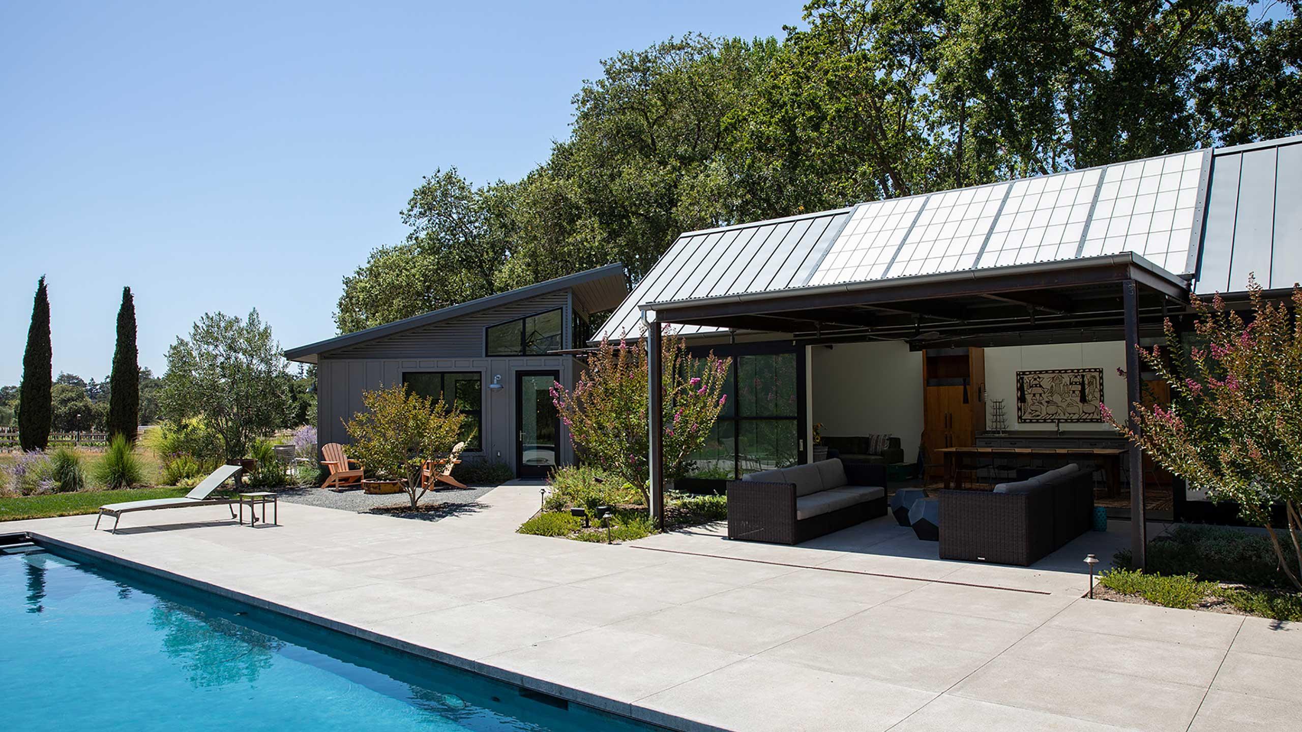 Napa-Farmhouse-pool-landscape-and-outbuildings