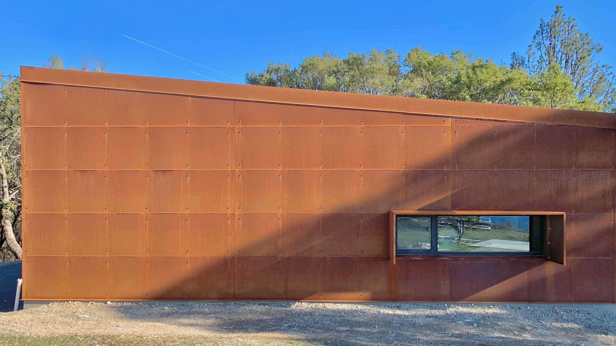 Glen-Ellen-metal-prefab-Corten-Metal-Contemporary-Building
